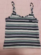 스컬프터(SCULPTOR) [SSS] STRIPE KNIT SLEEVELESS [RAINBOW] 후기
