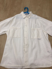 랩101(LAB101) TWO POCKET IVORY BLEACHED SHIRT 후기