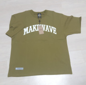 프리즘웍스(FRIZMWORKS) MAKE WAVE LOGO TEE _ DARK GREEN 후기