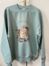 스컬프터(SCULPTOR) Kitten Boxy Sweatshirt Mint 후기