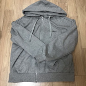 비바스튜디오(VIVASTUDIO) BASIC LOGO HOODIE ZIP UP JA [MELANGE GREY] 후기