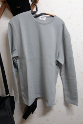 로맨틱 파이어리츠(ROMANTICPIRATES) C.r.e.a.m SEMI OVER FIT LONG SLEEVE(SOY CREAM) 후기