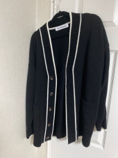 블론드나인(BLOND9) COLORATION KNIT CARDIGAN_IVORY 후기