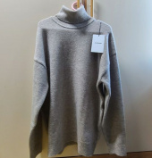 블론드나인(BLOND9) MELANGE TURTLE NECK SWEATER_IVORY 후기