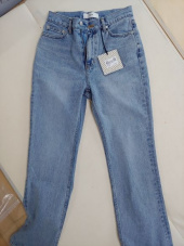 던스트 포 우먼(DUNST FOR WOMEN) ESSENTIAL SEMI-BOOTCUT JEANS LIGHT BLUE_UDPA0F208B1 후기