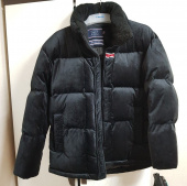 로맨틱크라운(ROMANTIC CROWN) VELVET DUCK DOWN PARKA_DARK BLUE 후기
