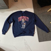 예일(YALE) (BY P.E.DEPT) UNIVERSITY HANDSOME DAN CREWNECK NAVY 후기