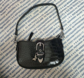 네스티팬시클럽(NASTY FANCY CLUB) [NF] LEATHER BUCKLE SHOULDER BAG (BLK)(20FW-F910) 후기