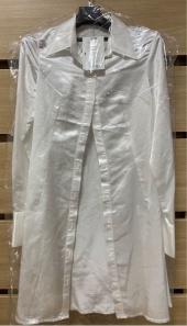 큐리티(CURETTY) C SATIN SHIRT DRESS_WHITE 후기