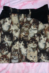 스컬프터(SCULPTOR) Furry Friends Carpet  Skirt [CAT FRIEND] 후기