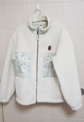 스컬프터(SCULPTOR) Double Pocket Sherpa Jacket [IVORY] 후기