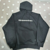 디스이즈네버댓(THISISNEVERTHAT) T-Logo Hooded Sweatshirt Navy 후기
