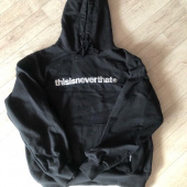 디스이즈네버댓(THISISNEVERTHAT) T-Logo Hooded Sweatshirt Light Navy (002) 후기