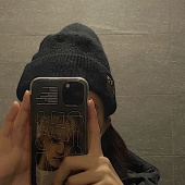 스컬프터(SCULPTOR) Labeled Knit Beanie [MELANGE GRAY] 후기