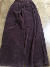 스컬프터(SCULPTOR) Wide Pin Tuck Corduroy Pants [FUSCHIA] 후기