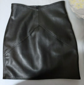 포텐스타(POTENT STAR) Wave leather skirt - ivory 후기
