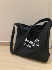 엘엠씨(LMC) LMC X A6OVE FRIENDSHIP MIX CANVAS ECO BAG black 후기