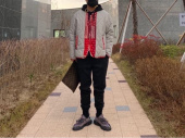 프리즘웍스(FRIZMWORKS) [FWS X QUIETIST] UNION LINER JACKET _ LIGHT GRAY 후기