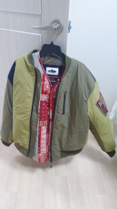 프리즘웍스(FRIZMWORKS) [FWS X QUIETIST] UNION MA-1 FLIGHT JACKET _ OLIVE 후기