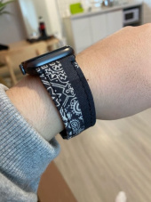 프리즘웍스(FRIZMWORKS) [FWS X ELK] BANDANA APPLE WATCH STRAP _ BLUE 후기