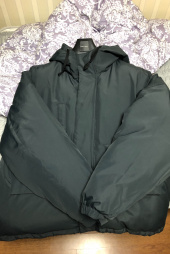 에스피오나지(ESPIONAGE) Dyer Hooded Down Parka Black 후기