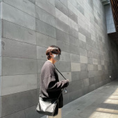 블론드나인(BLOND9) CREW NECK RIB KNIT SWEATER_IVORY 후기