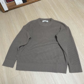 블론드나인(BLOND9) CREW NECK RIB KNIT SWEATER_BLACK 후기