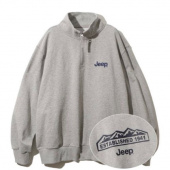 지프(JEEP) Half  Zip-Up M-Logo Sweat  (JM5TSU838BK) 후기