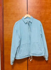 5252 바이 오아이오아이(5252BYOIOI) DENIM SWING JACKET [LIGHT BLUE] 후기