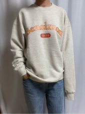 벤시몽(BENSIMON) 1979 HERITAGE SWEAT SHIRT - OATMEAL 후기