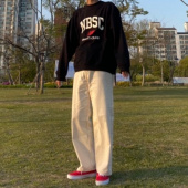 뉴발란스(NEW BALANCE) NBNCB20023 / UNI NB SPORTS CLUB 맨투맨(OVER FIT) 후기