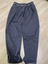 마뗑킴(MATIN KIM) ROUGH BALLOON SLACKS 후기