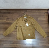 더스토리(THESTORI) COTTON TRUCKER JACKET (BROWN) 후기