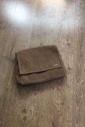 모노노(MONONO) Wax Canvas Camel_Mail Bag 후기