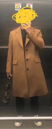 인사일런스(IN SILENCE) Chester Cashmere Coat Black 후기