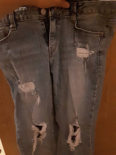 밀리언코르(MILLIONCOR) [Cona 3073] Light Destroyed Jeans 후기