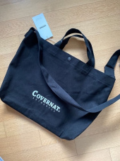 커버낫(COVERNAT) AUTHENTIC LOGO 2WAY BAG BLACK 후기