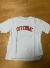 커버낫(COVERNAT) S/S ARCH LOGO TEE WHITE/RED 후기