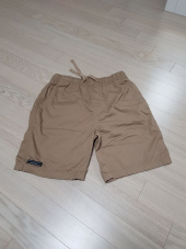 그루브라임(GROOVE RHYME) BASIC HALF PANTS (NAVY) [GSP020H23NA] 후기