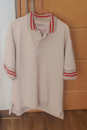노앙(NOHANT) STRIPED COLLAR PIQUE SHIRT BEIGE 후기