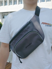 피스메이커(PIECE MAKER) CLASSIC CORDURA WAIST BAG (DARK GREY) 후기