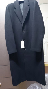 비바스튜디오(VIVASTUDIO) CASHMERE LONG CHESTERFIELD COAT JA [BLACK] 후기