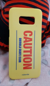 로라로라(ROLAROLA) (ETC-012)CAUTION PHONE CASE YELLOW 후기