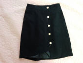 바이바이섭(BIBYSEOB) DIAGONAL MINI SKIRT BLACK 후기