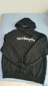 마크 곤잘레스(MARK GONZALES) M/G SIGN LOGO HOODIE NAVY 후기