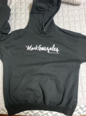 마크 곤잘레스(MARK GONZALES) M/G SIGN LOGO HOODIE BLACK 후기