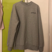 마크 곤잘레스(MARK GONZALES) M/G SMALL SIGN LOGO CREWNECK GRAY 후기