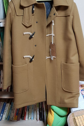 유니폼브릿지(UNIFORM BRIDGE) 17fw heavy duffle coat olive 후기