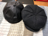 밀리어네어햇(MILLIONAIRE HATS) wool tweed newsboy cap - dark gray mix 후기