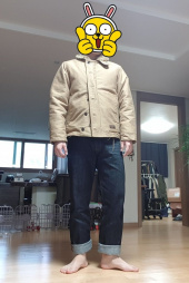 에스피오나지(ESPIONAGE) Lander N-1 Deck Jacket Tan 후기